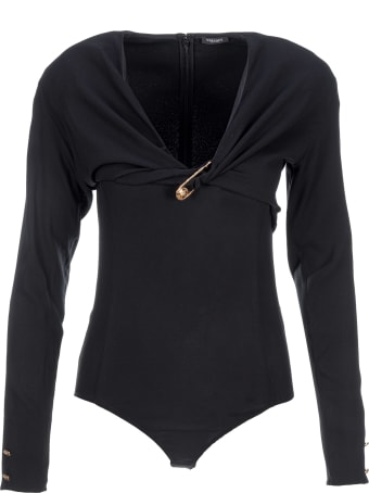 Versace Safety Pin Bodysuit