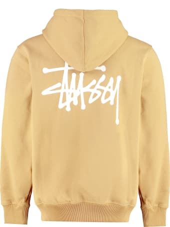 Stussy Logo Detail Cotton Sweatshirt
