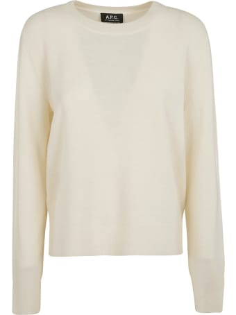 A.P.C. Plain Ribbed Sweater
