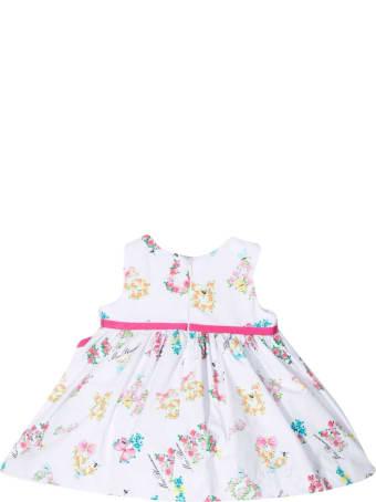 Miss Blumarine Elegant Floral Dress