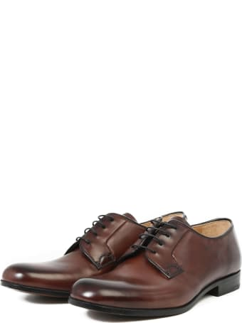 Church's Leather Lace-up Shoes Brown