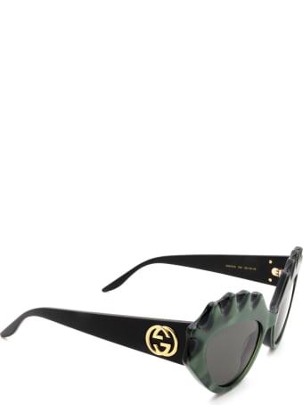 Gucci Gucci Gg0781s Green Sunglasses