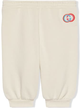 Gucci Baby Cotton Jogging Trousers