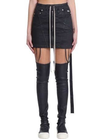 DRKSHDW Skirt In Black Polyester