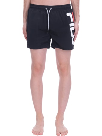 Fila Michi Beachwear In Black Polyester