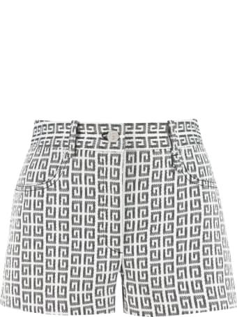 Givenchy Logo Jacquard Shorts