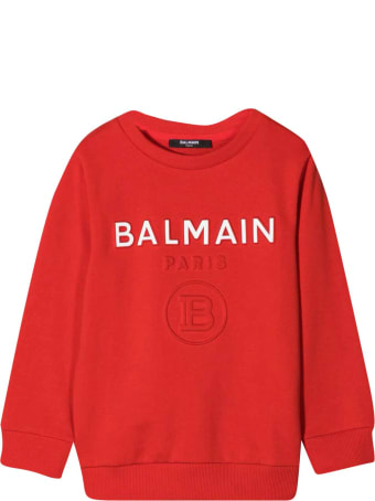 Balmain Sweatshirt With Press