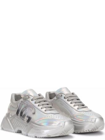 Dolce & Gabbana Day Master Silver Sneaker