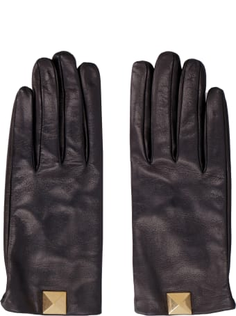 Valentino Leather Gloves - Valentino Garavani