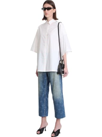 Balenciaga Vil Top Hand Xs Hand Bag In Black Leather