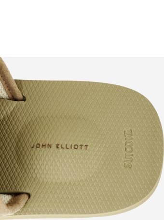 SUICOKE Suicoke X John Elliott Flats