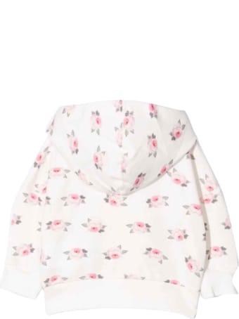 Monnalisa Newborn Floral Sweatshirt