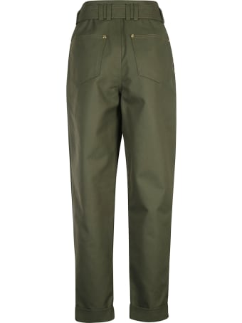 Balmain Belted Trousers