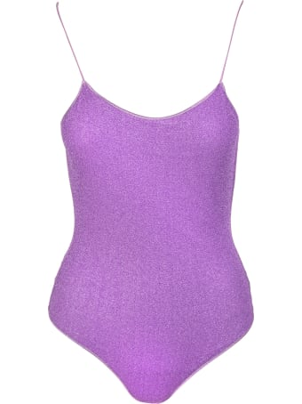 Oseree Purple Lumiere Maillot One-piece Swimsuit