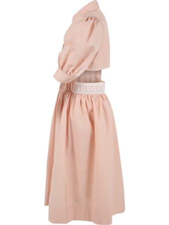 Fendi Pink Dress For Girl