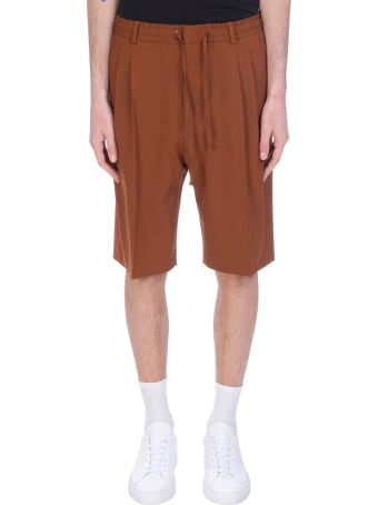 CMMN SWDN Shorts In Brown Wool