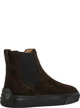 Tod's Tronchetto Elastico Cassetta  Boots