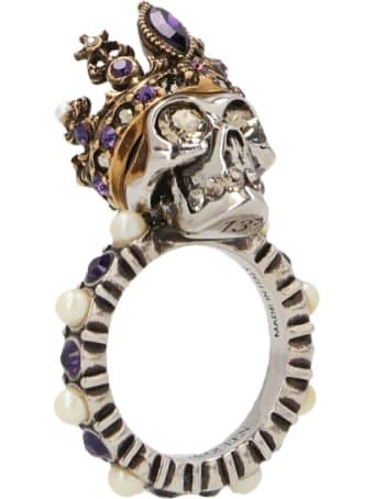 Alexander McQueen 'skull Queen' Ring