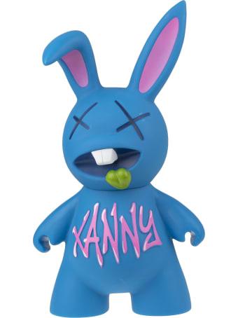 Pharmacy Industry Blue Toy Rabbit