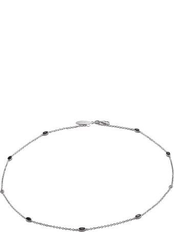 Lo Spazio Jewelry Lo Spazio Blue Sapphire and Diamond  Necklace