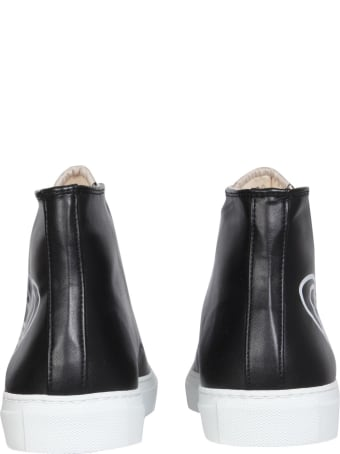 Vivienne Westwood Faux Leather Sneakers