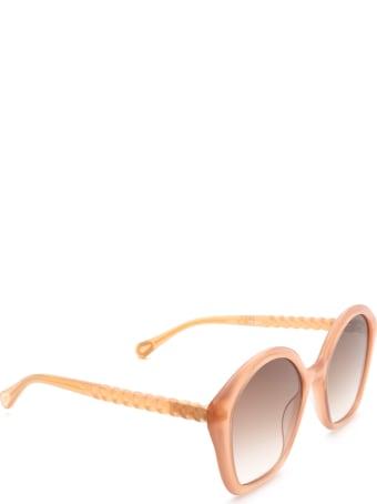 Chloé Chloé Cc0001s Nude Sunglasses
