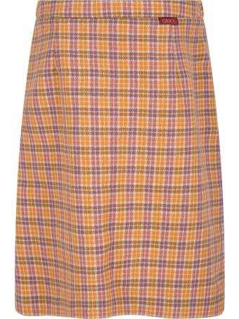 Gucci Multicolor Skirt For Girl