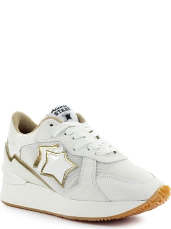 Atlantic Stars Andromeda White Gold Sneaker