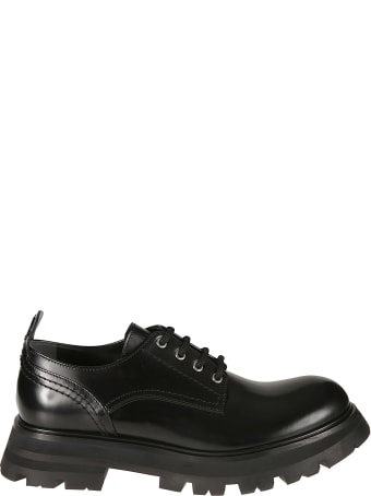 Alexander McQueen Shiny Derby Shoes
