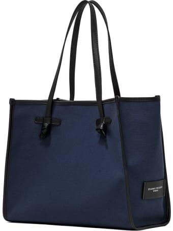 Gianni Chiarini Blue Shopping Bag