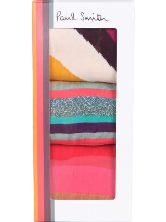 Paul Smith Set Of Three Socks