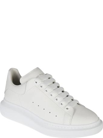 Alexander McQueen Heel Tab Wedge Sneakers