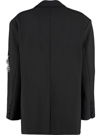 AREA Single-breasted Blazer