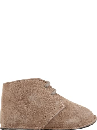 Gallucci Beige Shoes For Baby Boy