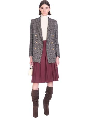 Tagliatore 0205 J-jasmine Blazer In Black Wool