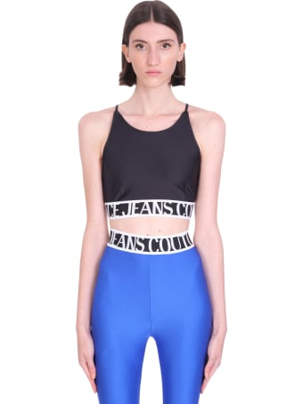 Versace Jeans Couture Topwear In Black Polyamide