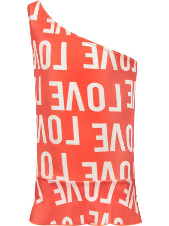 """Gardner and the Gang Red """"love"""" Swimsuit For Girl"""