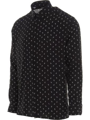 Saint Laurent 'ancore Marine' Shirt