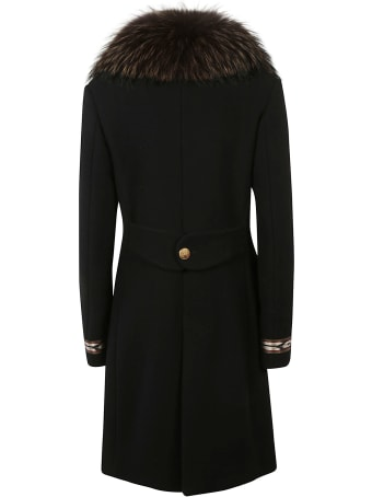 Bazar Deluxe Furred Double-breasted Coat