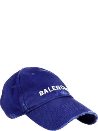 Balenciaga Blue Classic Cap