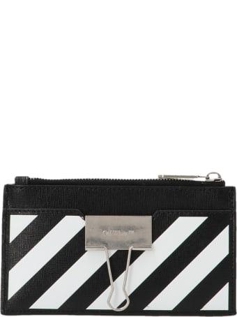 Off-White 'binder' Wallet