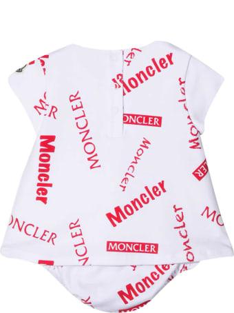 Moncler White Dress