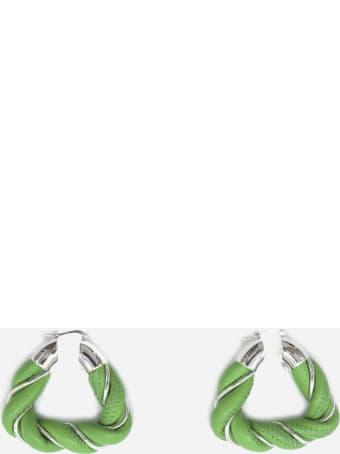 Bottega Veneta Silver And Tassel Earrings