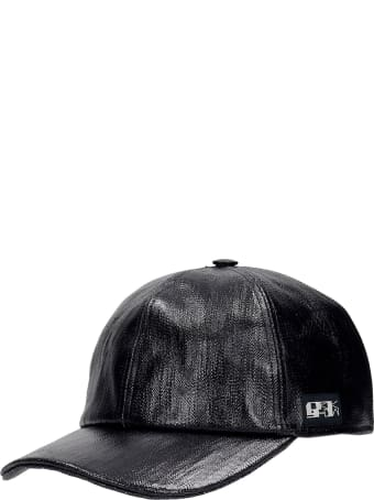 DRKSHDW Hats In Black Cotton