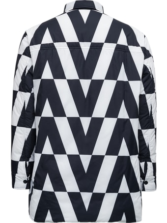 Valentino Reversible Logoed Nylon  Down Jacket