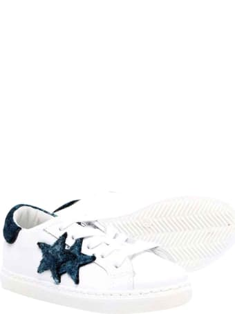 2Star White Sneakers