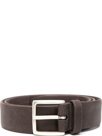 Orciani Chevrette Nabuck Leather Belt