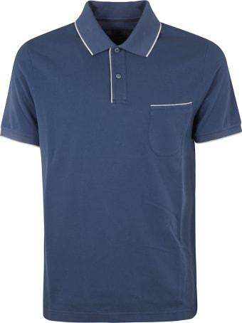Loro Piana Regular Fit Patched Pocket Polo Shirt