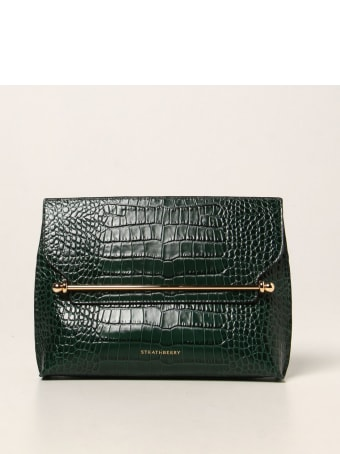 Strathberry Crossbody Bags Stylist Strathberry Bag In Crocodile Print Leather