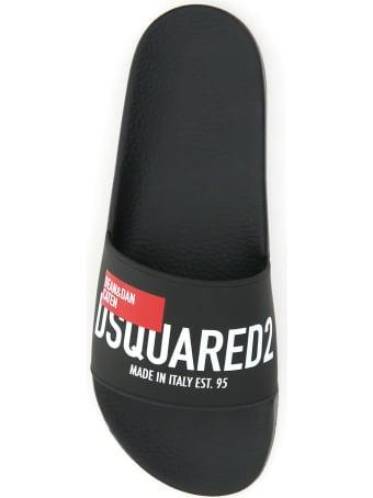 Dsquared2 D&d Rubber Slides